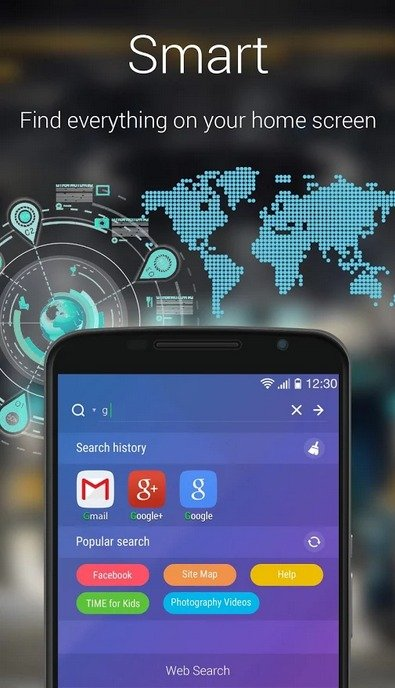 Go Launcher For android phones