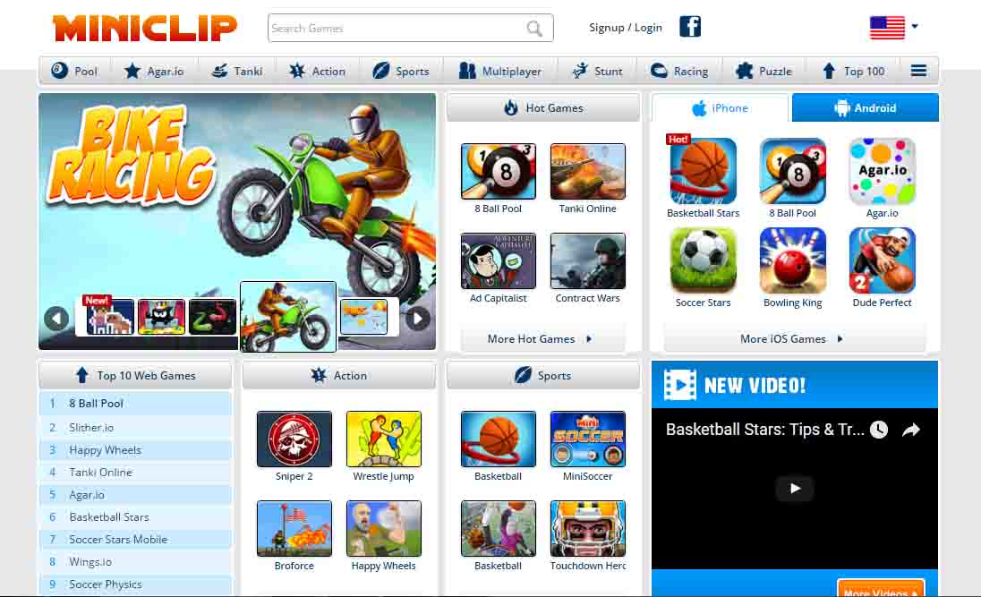 top gaming sites
