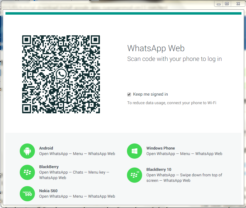 WhatsApp Web- Run WhatsApp On PC With Chrome Extention