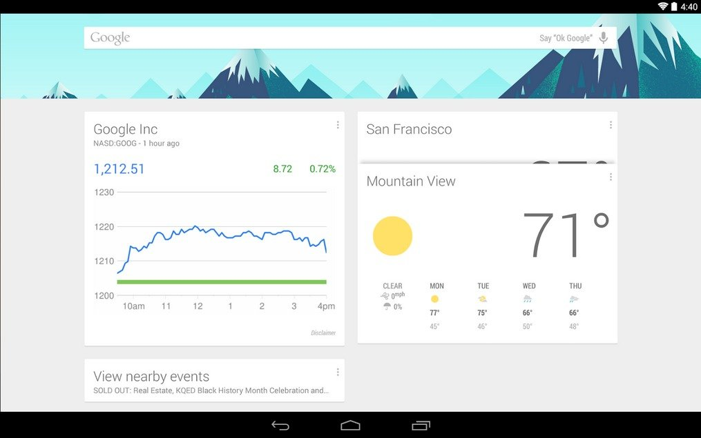 google now best android launcher