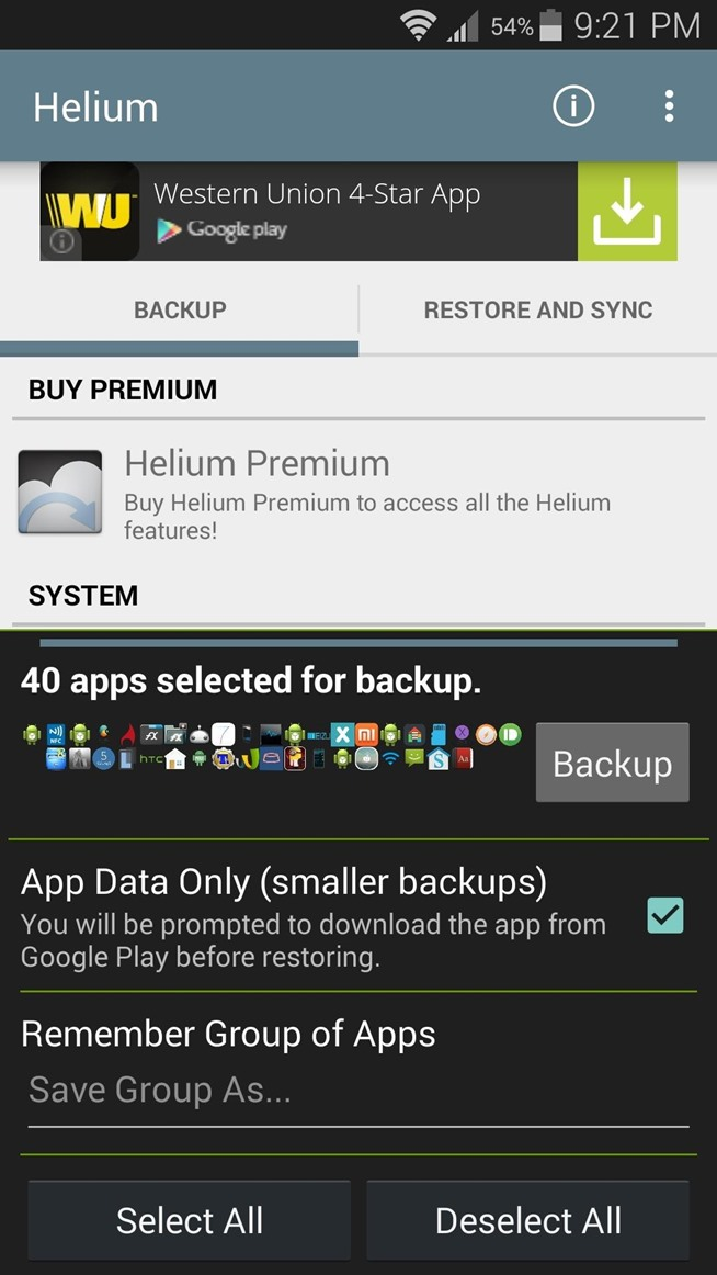 Android Backup Apps Without Root