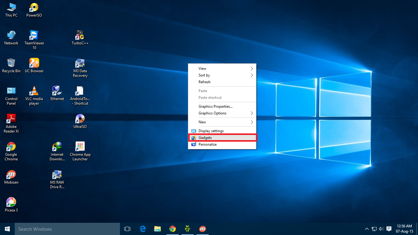 How to Install Desktop Gadgets to Windows 10 Free