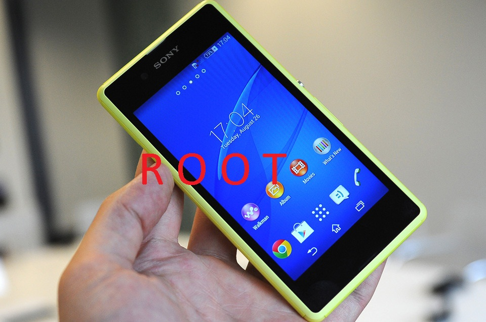 How to Root Sony Xperia E3 Dual D2212