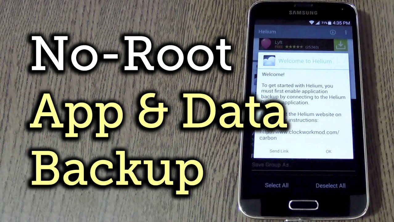 backup android apps data
