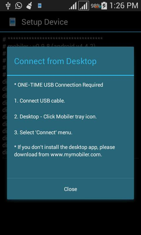 How To Access Android Phone Through PC With MyMobiler App