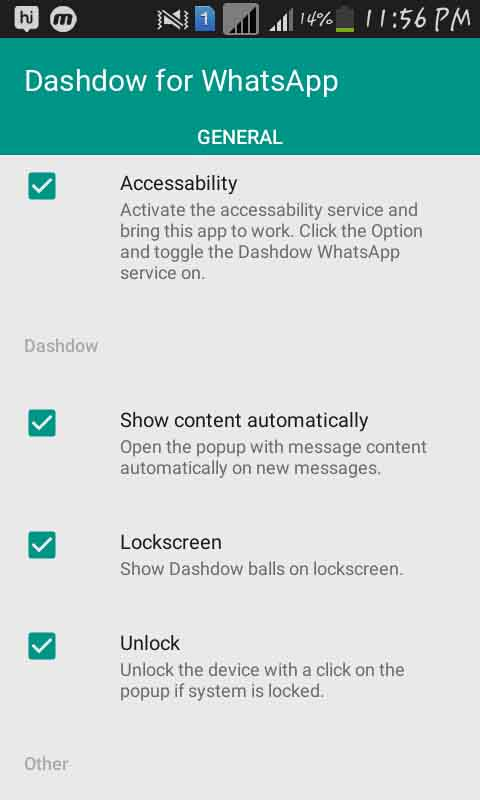 Dashdow For WhatsApp
