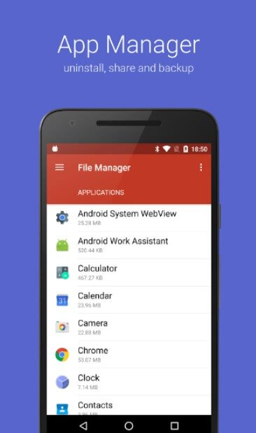 File Manager With App Manager