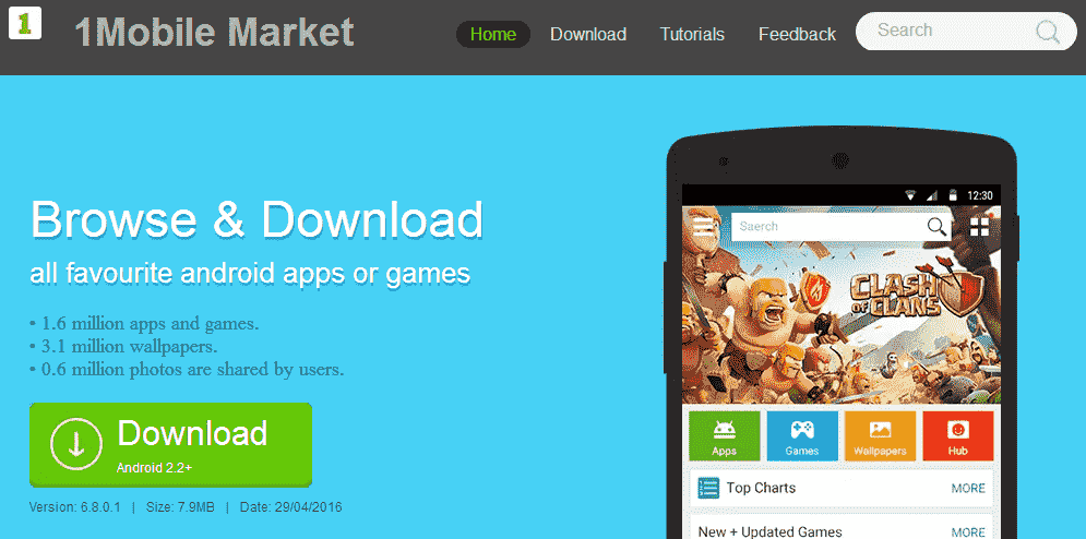 1Mobile Market Get Paid Apps For Free