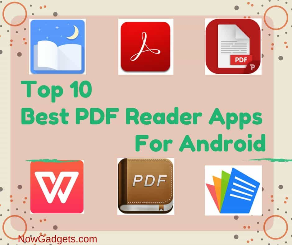 Top 10 Best PDF Reader Apps For Android