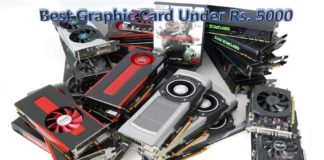 Top 10 Best Graphic Card For Your Gaming PC Under Rs. 5000 In 2017