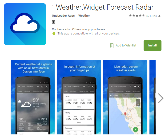 Free Weather Apps For Cell Phones