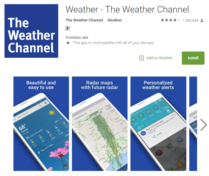 Weather App For Android Apk