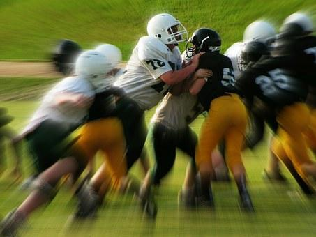 Kids, Football Games, Tackle, Sports