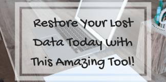 Restore Your Lost Data Today with This Amazing Tool!
