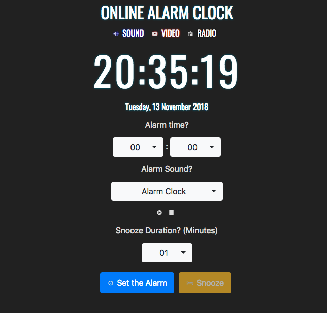Online Alarm For All Phones